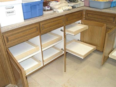 Sliding Shelves For Kitchen Cabinets by Best 25 Slide Out Shelves Ideas On Sink