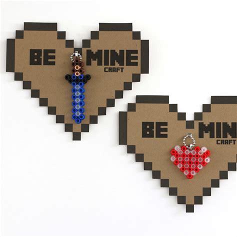 valentines day minecraft make minecraft valentines free printable