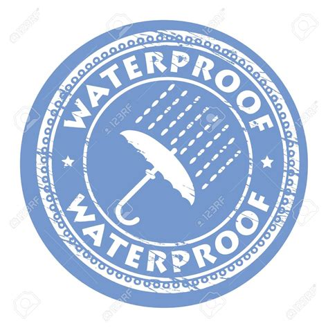 Water Proof waterproof clipart clipground