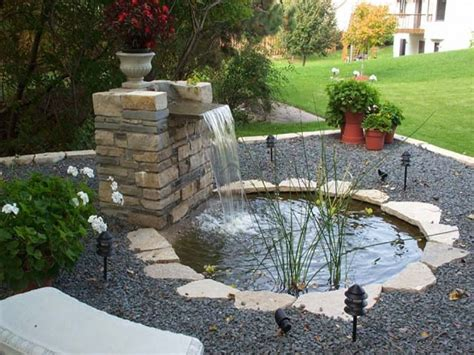 waterfall ideas for ponds indoor fish ponds with
