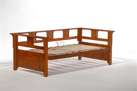 Wood Daybed Frame Wood Bed Frame With Trundle