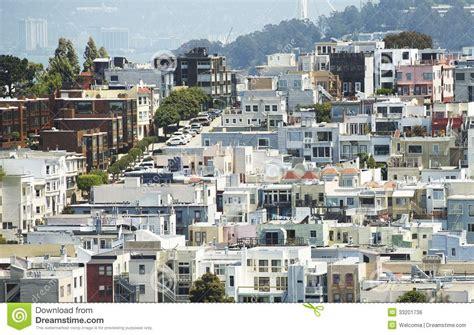 san francisco housing san francisco housing royalty free stock image image 33201736
