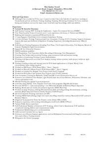 teller supervisor resume exles resume exle for bank