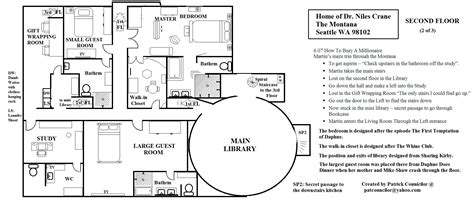 frasier apartment floor plan niles apartment frasier apartment decorating ideas