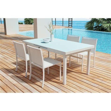 lovable zuo mayakoba aluminum outdoor dining table the