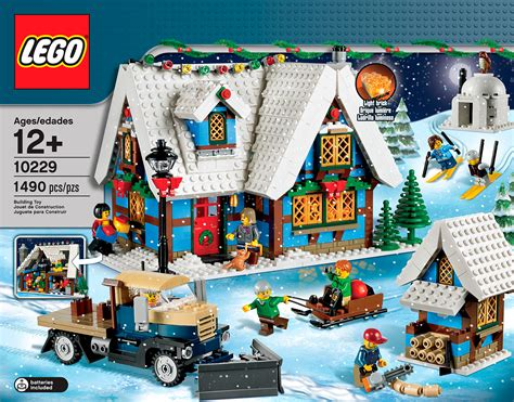 winter cottage lego lego winter cottage 10229 revealed the brick