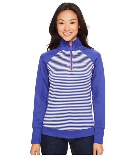Sweater Stripe 4 vineyard vines golf brandywine stripe 1 4 zip pullover at zappos