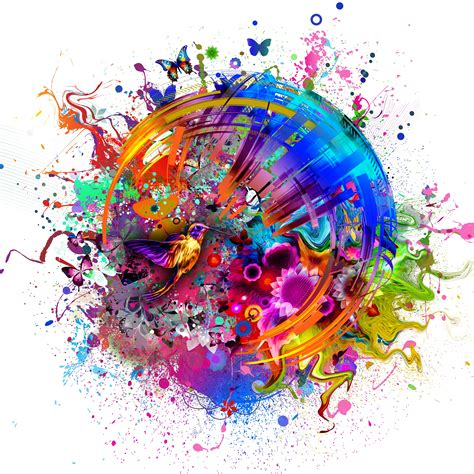 abstract wallpaper sles abstract colors flashy bird hd 4k wallpaper