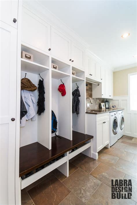 laundry mudroom renovation novi mi labra design build