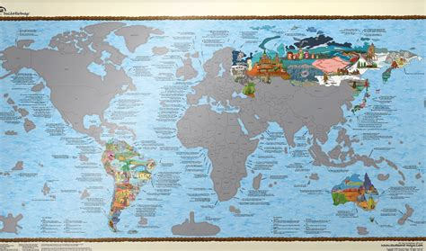 100 Canada Map Coloured Explorer - 100 canada map coloured explorer world map mural