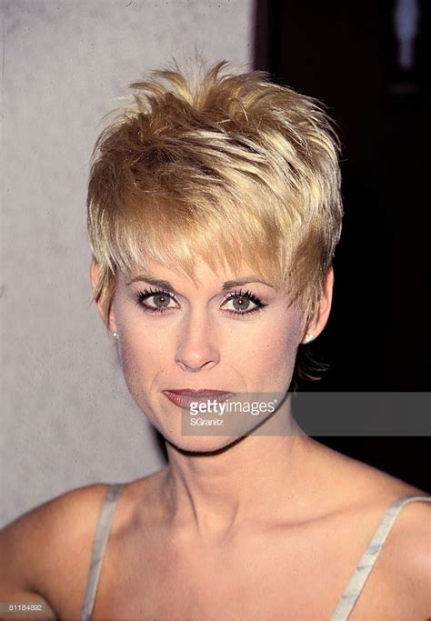 lorrie morgan short hairstyles 29th annual academy of country music awards getty images