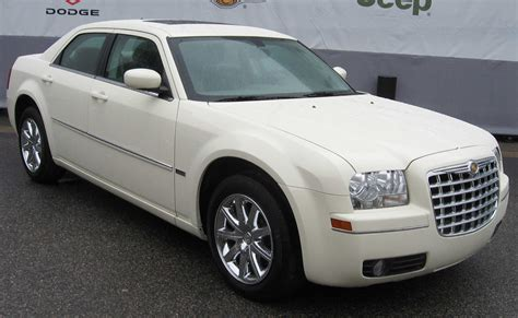 chrysler car white chrysler 300 history of model photo gallery and list of