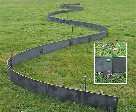 Metal Landscape Edging How To Make Futuristic Landscape Landscape Metal Edging
