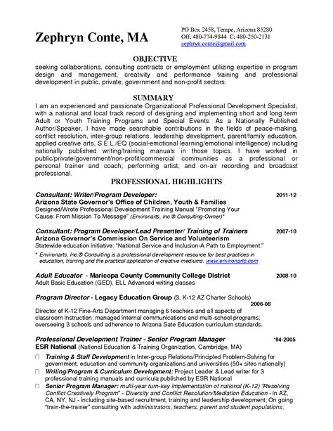 Pilates Instructor Cover Letter by Trainer Resume Bamboodownunder