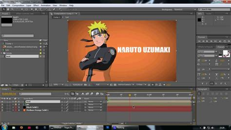 tutorial edit video after effect adobe after effects amv tutorial week 1 a youtube