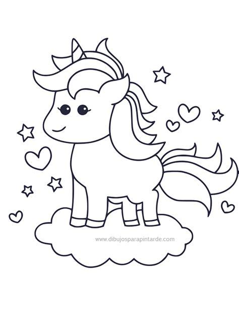 imagenes de unicornios tiernos para colorear dibujos para pintar de unicornios dibujos para pintar