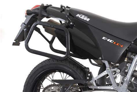 Ktm 640 Adventure Accessories Sw Motech Lock Evo Style Sidecarriers To Fit Many