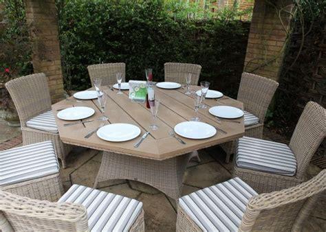 octagonal outdoor dining table alasweaspire