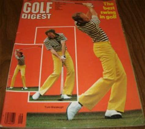swing golf magazine golf digest magazine september 1977 issue tom weiskopf