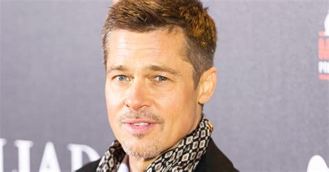 Find Pitt Brad Pitt Is A Sculpture Details Us Weekly