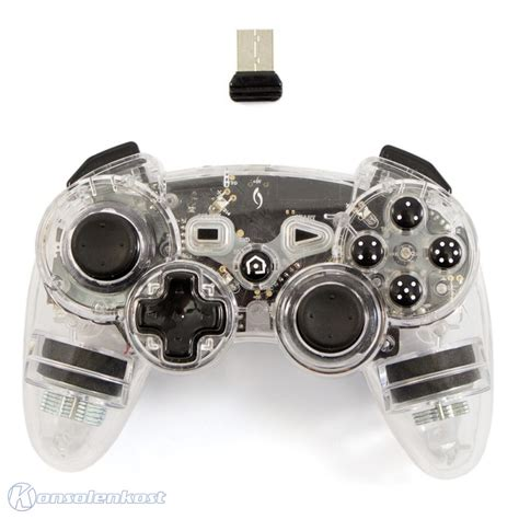 ps3 controller light codes ps3 wireless pad transparent afterglow red light