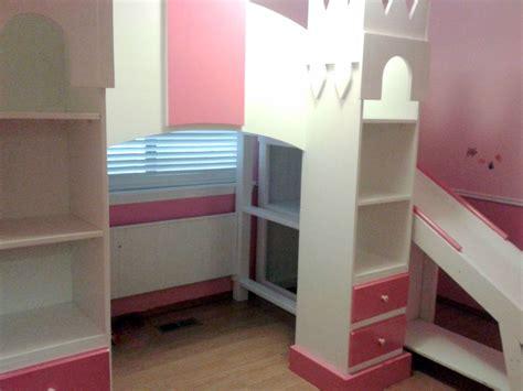 princess castle loft bed custom princess castle loft bed by treasure valley