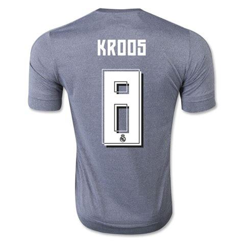 Real Madrid 2015 16 Away Bnwt Kroos Wcc 2014 Original Jersey real madrid 2015 16 kroos 8 away soccer jersey