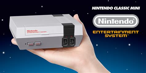 nintendo classic mini nintendo entertainment system nintendo nintendo classic mini nintendo entertainment system launches 11th november and includes 30
