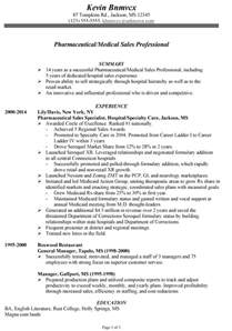 Pharmaceutical Sales Resumes Exles by Chronological Resume Sle Pharmaceutical Sales