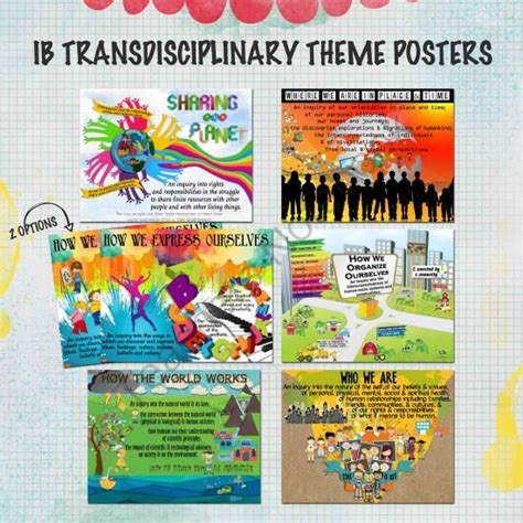 ib themes kindergarten 1000 images about pyp transdisciplinary themes on