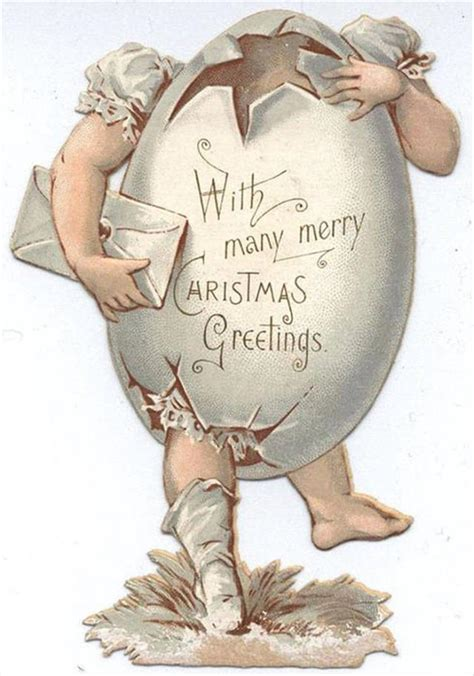 creepiest victorian christmas cards   pics