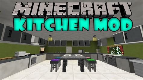 Kitchen Mod For Minecraft Pc Kitchen Mod Refrigerador Microondas Tostadora Y