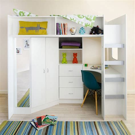 high beds high sleeper cabin bed with colour options ideal childrens
