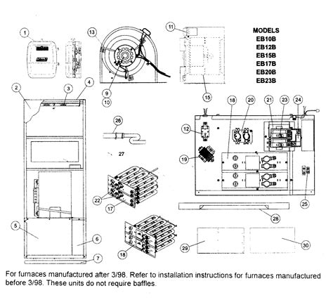 wiring diagram for thermostat to 2 furnaces ac thermostat