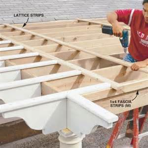 How To Build A Pergola Step By Step by How To Build A Pergola Step By Step My House My Homemy
