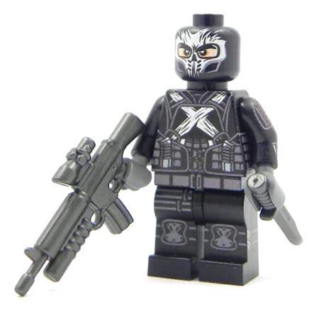Lego Kw Captain America Civil War Costume Minifigure crossbones civil war captain america enemy custom lego