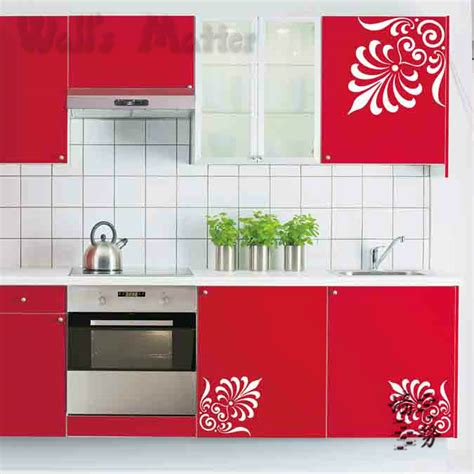 decals for kitchen cabinets removable vinyl paper art decal decor fashion decorative