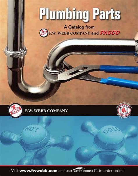 plumbing parts catalog by f w webb company issuu