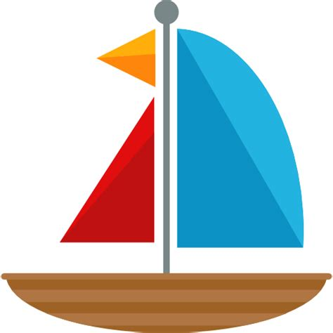 boat small icon sailing boat free transport icons