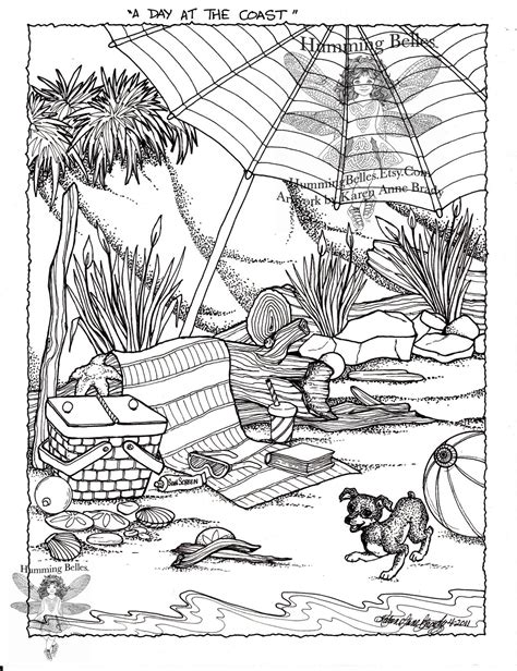 coloring pages of garden scene free coloring pages of a scene at a garden