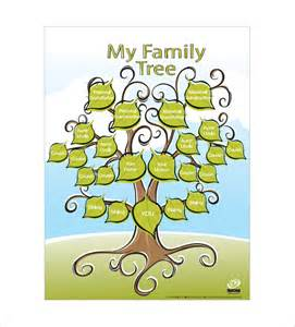 kids family tree template 10 free sle exle