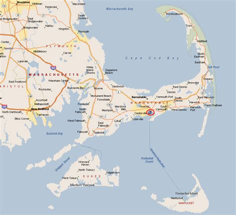 cape cod maps maps of the area walk to everything from this hyannis