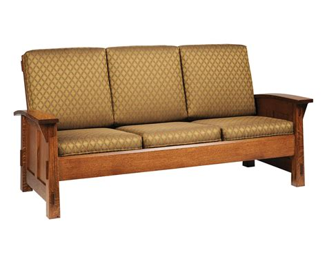 shaker style sofa olde shaker sofa amish furniture designed