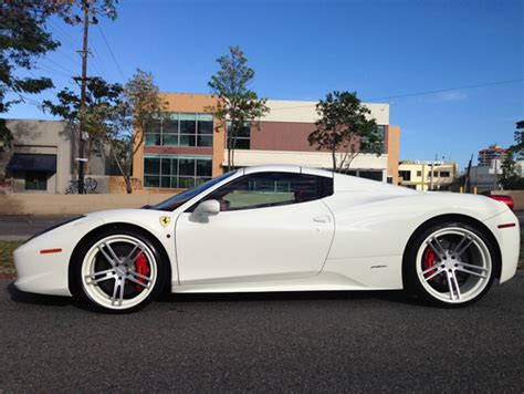 ferrari custom paint custom painted wheels for ferrari giovanna luxury wheels
