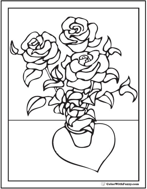 rose bush coloring page 73 rose coloring pages customize pdf printables