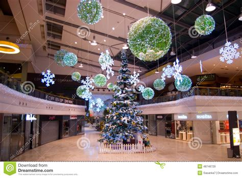 shopping ideas decorations at mall editorial stock image