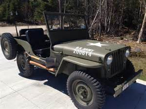 Willys Jeep For Sale 1946 Jeep Willys For Sale