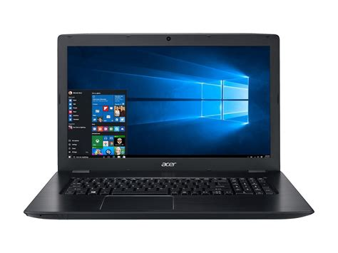 Laptop Acer I5 acer aspire e laptop w 17 3 quot 1920x1080 display i5 7200u 2 5 ghz cpu 8gb ddr4 256gb ssd 2gb