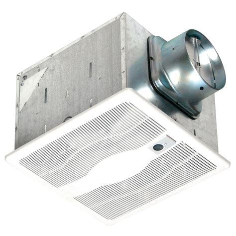 Bathroom Exhaust Fans Motion Sensor Air King 80 Cfm Ceiling Single Speed Motion Sensing