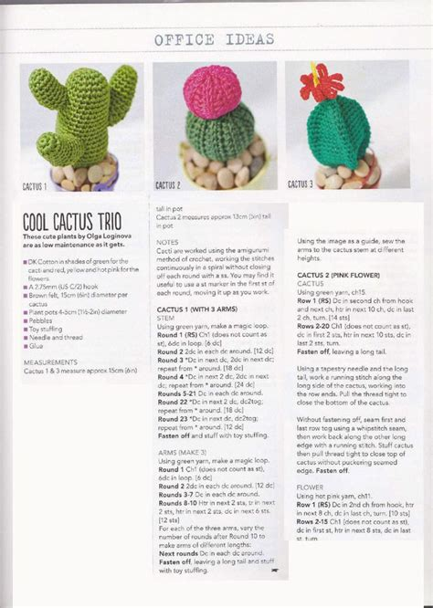 all pattern in c crochet cactus pattern more great patterns like this